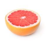 De helft van grapefruit stock fotografie