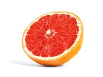 De helft van Rijpe Grapefruit royalty-vrije stock afbeelding