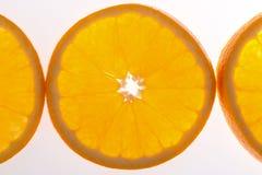 De helft van sinaasappel Royalty-vrije Stock Afbeelding