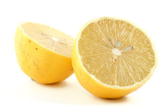 De helften van de citroen Royalty-vrije Stock Afbeelding