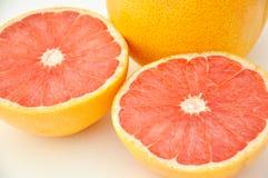 De Helften van de grapefruit Royalty-vrije Stock Foto's