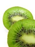 De helften van de kiwi Royalty-vrije Stock Afbeelding