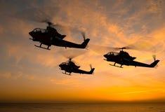 De helikopter royalty-vrije illustratie