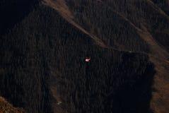 De helikopter in de Altai-bergen Royalty-vrije Stock Afbeelding