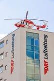 De helikopter Luftrettung, Duits Duitsland van de luchtredding, Stock Afbeelding