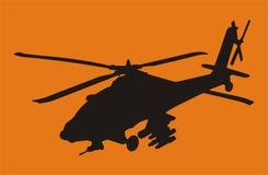 De helikopter van Apache Royalty-vrije Stock Foto's