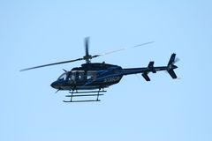 De Helikopter van de klok Royalty-vrije Stock Afbeelding