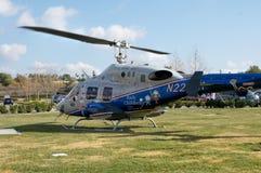 De Helikopter van de noodsituatie Stock Foto