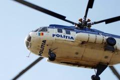De helikopter van de politie royalty-vrije stock foto's