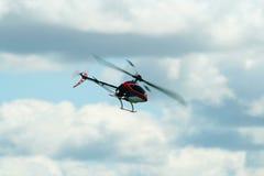 De helikopter van Rc Stock Afbeeldingen