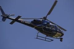 De Helikopter van Ronde van Frankrijk 2014 TV Stock Afbeeldingen