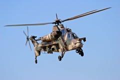 De helikopter van Rooivalk stock afbeeldingen