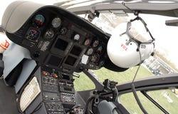 De helikoptercockpit van de redding Royalty-vrije Stock Afbeelding