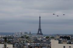 De Helikopters van de Bastilledag Royalty-vrije Stock Fotografie