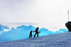 De helling van de ski. Royalty-vrije Stock Foto