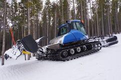 De helling van de ski groomer Royalty-vrije Stock Fotografie