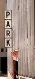 De Helling van het parkeren Stock Foto's