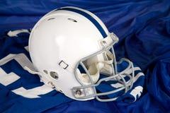 De Helm en Jersey van de voetbal Royalty-vrije Stock Afbeeldingen