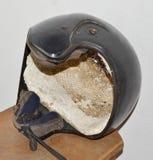 De Helm Straalzwarte van de helmhelm Royalty-vrije Stock Foto's