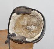 De Helm Straalzwarte van de helmhelm Stock Fotografie