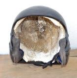 De Helm Straalzwarte van de helmhelm Royalty-vrije Stock Foto
