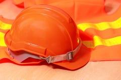 De helm van de bescherming stock afbeelding