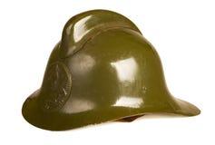 De helm van de brand stock foto