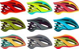 De helm van de fiets stock illustratie