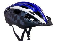 De helm van de fiets met vizier Royalty-vrije Stock Afbeelding