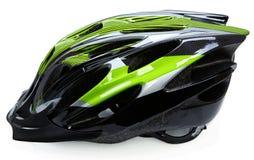 De Helm van de fiets op Wit Stock Foto