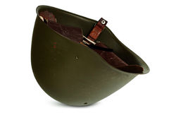De helm van de militair. stock foto