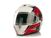 De helm van de motorfiets Royalty-vrije Stock Afbeeldingen