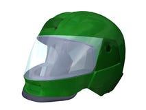De helm van de motorfiets Stock Afbeeldingen