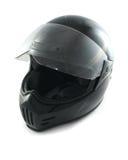 De helm van de motorfiets stock afbeelding