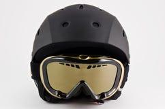 De helm van de ski stock foto