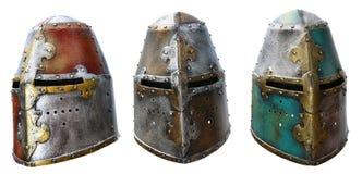 De helm van het ijzer Royalty-vrije Stock Afbeeldingen