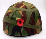 De helm van het leger Stock Afbeeldingen