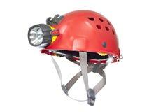De helm van Speleo stock fotografie
