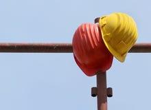 De helmen van de bescherming Royalty-vrije Stock Fotografie