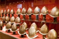 De Helmen van de ridder Royalty-vrije Stock Fotografie
