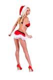 De Helper van de Kerstman van Kerstmis stock fotografie