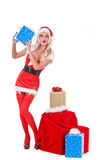 De Helper van Kerstmis Stock Fotografie
