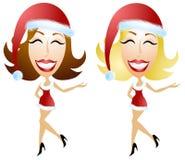 De Helper van Kerstmis van de sexy Kerstman royalty-vrije illustratie