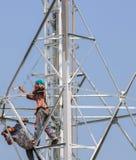 De hemel Antenne Stock Foto's