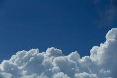 De hemel is blauw Stock Foto's