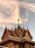 De hemel boven de tempel Stock Afbeeldingen