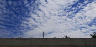 De hemel boven septs Stock Foto's