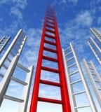 De hemel is de grens Stock Fotografie