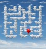 De hemel is de Grens Royalty-vrije Stock Fotografie