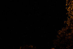 De hemel en de sterren van de nacht Royalty-vrije Stock Fotografie